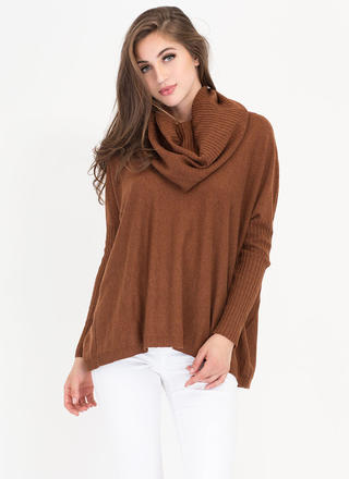 Toasty Warm Knit Turtleneck Sweater