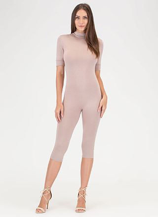 Perfect Bae-sic Cropped Full Bodysuit