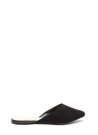 Point Taken Slip-On Faux Suede Flats