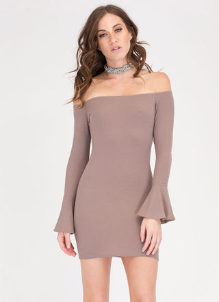 Bell Of The Ball Off-Shoulder Dress