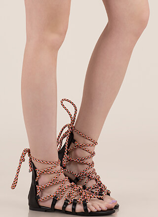 2a48b6bda58 Gladiator Sandals - Mid-Calf   Knee High Gladiator Sandals