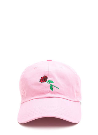 Rose By Any Other Name Denim Cap