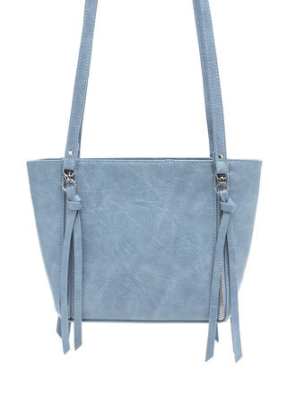 Zip The Balance Faux Leather Bag