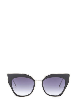 Retro Party Cat-Eye Sunglasses