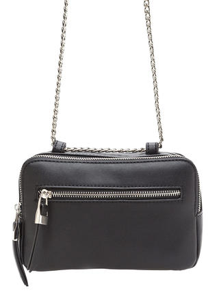 Total Package Faux Leather Crossbody Bag