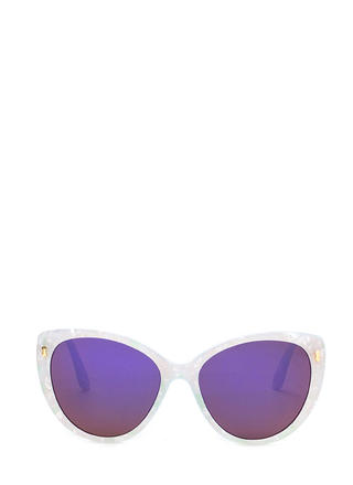 Sunny Outlook Cat-Eye Sunglasses