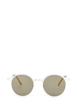 So Sleek 'N Chic Round Sunglasses