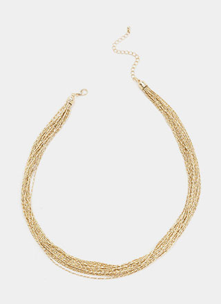 Expert Layer Multi-Chain Necklace