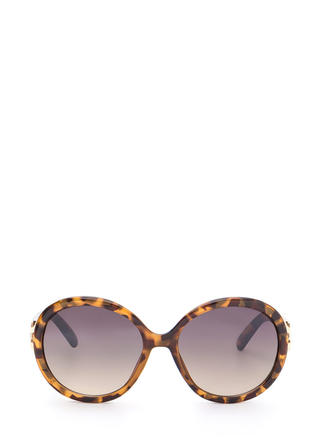 Life With Pi Round Sunglasses