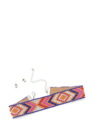 Southwest Charm Beaded Choker Set