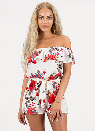 f5a6ac5d094 Sexy Jumpsuits   Rompers - Floral Rompers