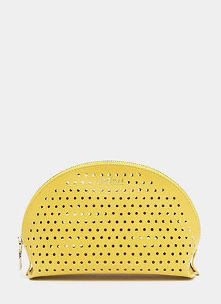 Makeup Junkie Perforated Pouch