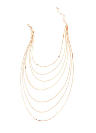 Sleek Inspiration Layered Chain Necklace