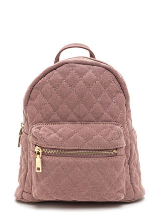 Quilt Trip Canvas Mini Backpack