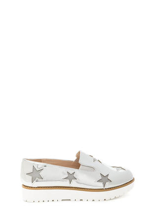 Stargazing Metallic Slip-On Sneakers