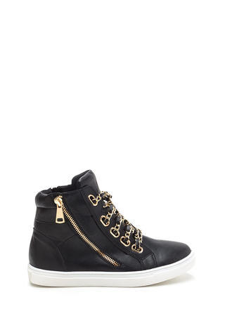 Mood Chain-ge High-Top Sneakers