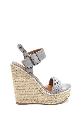 Dome Improvement Espadrille Wedges