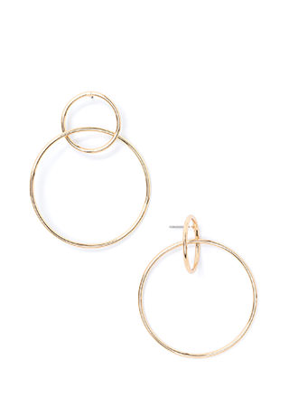 Double Dose Hoop Earrings