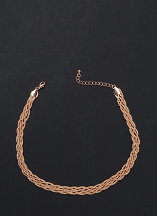 Come To Your Braid Textured Necklace