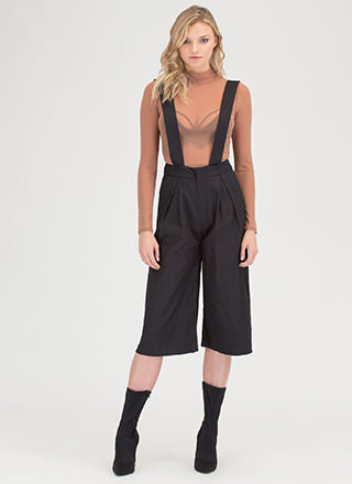 Parisian Holiday Suspender Culottes