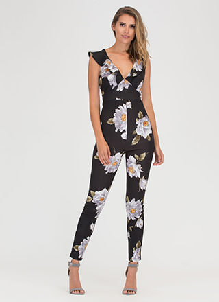 Flower Of Good Ruffled Jumpsuit