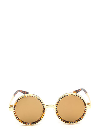 Sundial Circle Lens Sunglasses