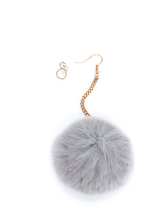All Fur You Pom-Pom Earrings