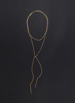 Simply Irresistible Helix Chain Necklace