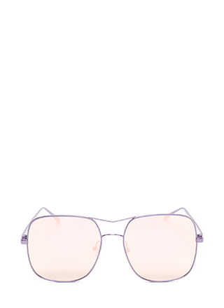 Around The Bend Aviator Sunglasses