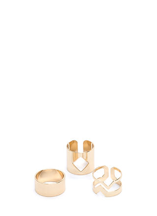 It Factor Cut-Out Ring Set