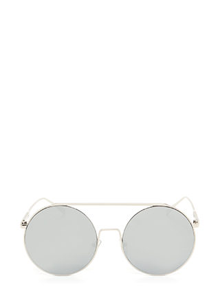 Festival Babe Round Top Bar Sunglasses