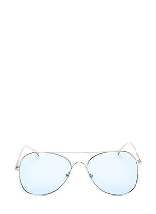 One Fluid Motion Aviator Sunglasses
