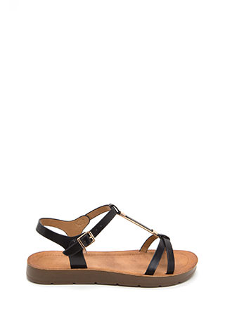 Made For Walkin' Faux Leather Sandals