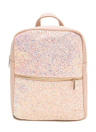 When In Doubt Glitter Backpack