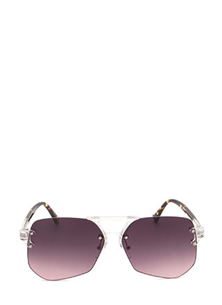 Cleared For Takeoff Ombre Sunglasses