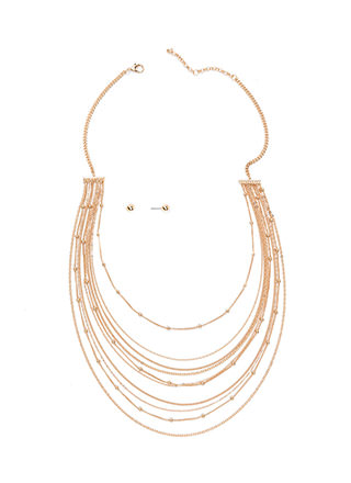 Off The Chains Layered Necklace Set