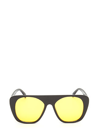 Cool Cat Tinted Retro Sunglasses