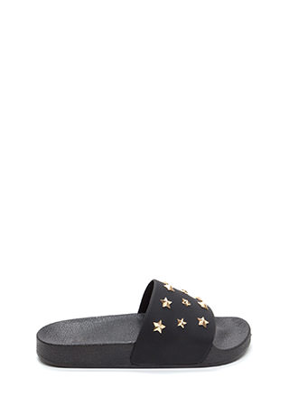 Star-Studded Affair Slide Sandals