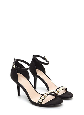 Daughter Of Pearl Ankle Strap Heels