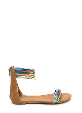 Power Cords Rainbow Strap Sandals