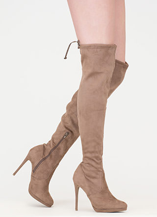 Made For Walking Thigh-High Boots