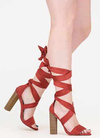 Chic Muse Tied Gladiator Sandals