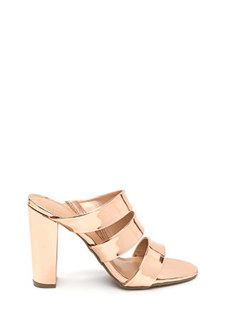 It Takes Three Chunky Mule Heels