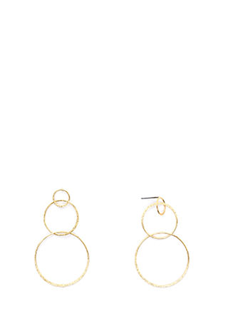 Ring It On Triple Hoop Earrings