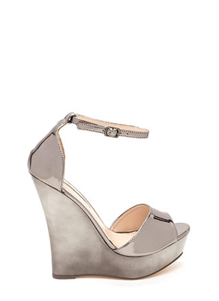 Sleek 'N Smooth Platform Wedges