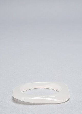Clear Intentions Square Bangle