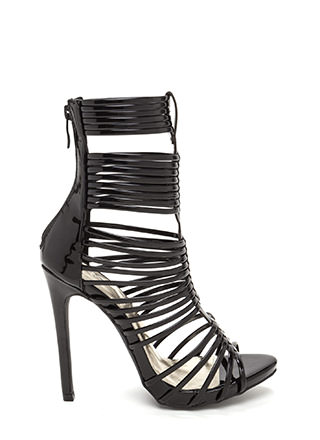 Stack Up To Be Strappy Gladiator Heels