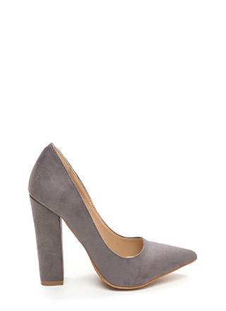 Versatile Pick Pointy Chunky Heels
