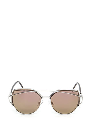 Beachy Goddess Brow Bar Sunglasses
