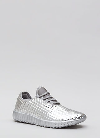Pyramid Trek Metallic Sneakers